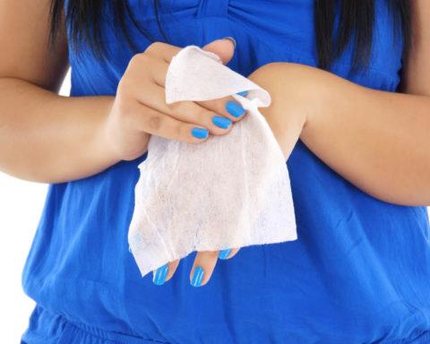 Влажные салфетки своими руками