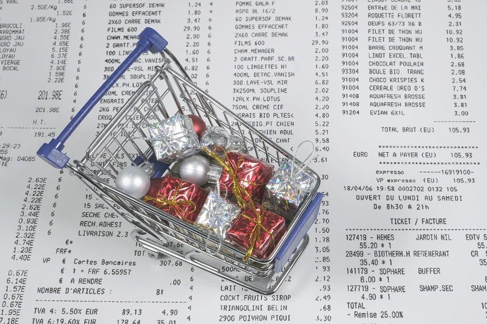 Предновогодний шопинг