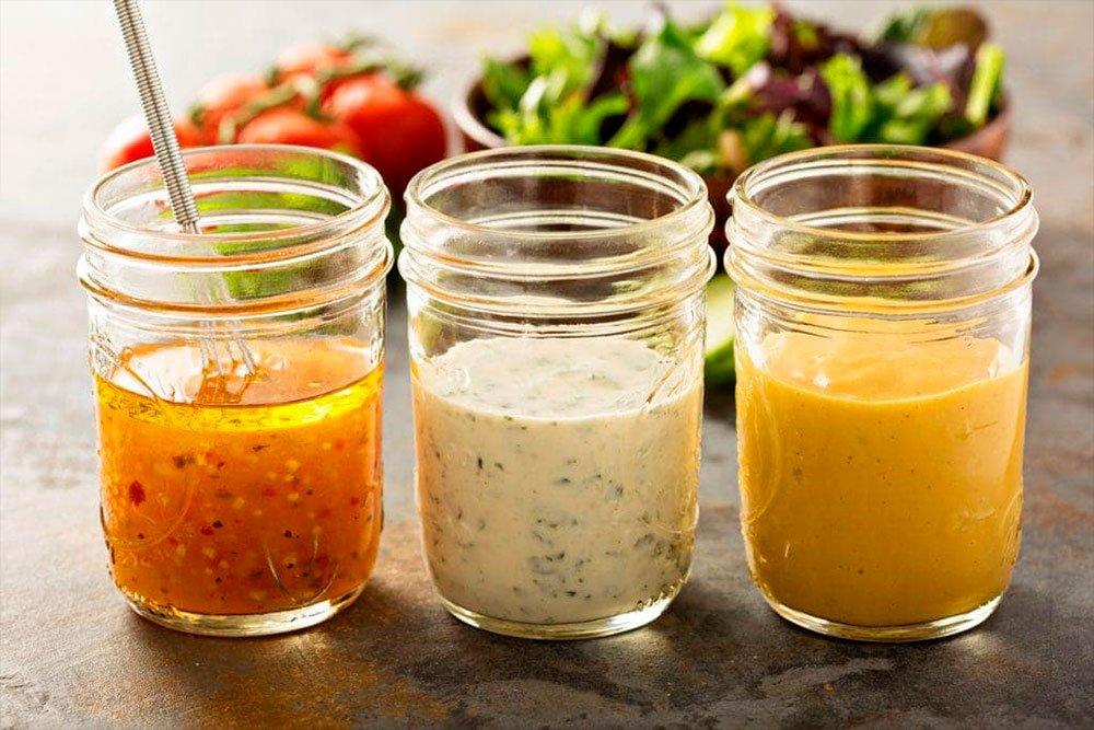 Интересные рецепты соусов для салатов
