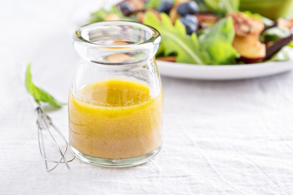 Лимонная заправка для салата