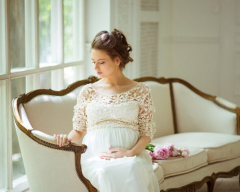 Свадебные платья для невест в положении