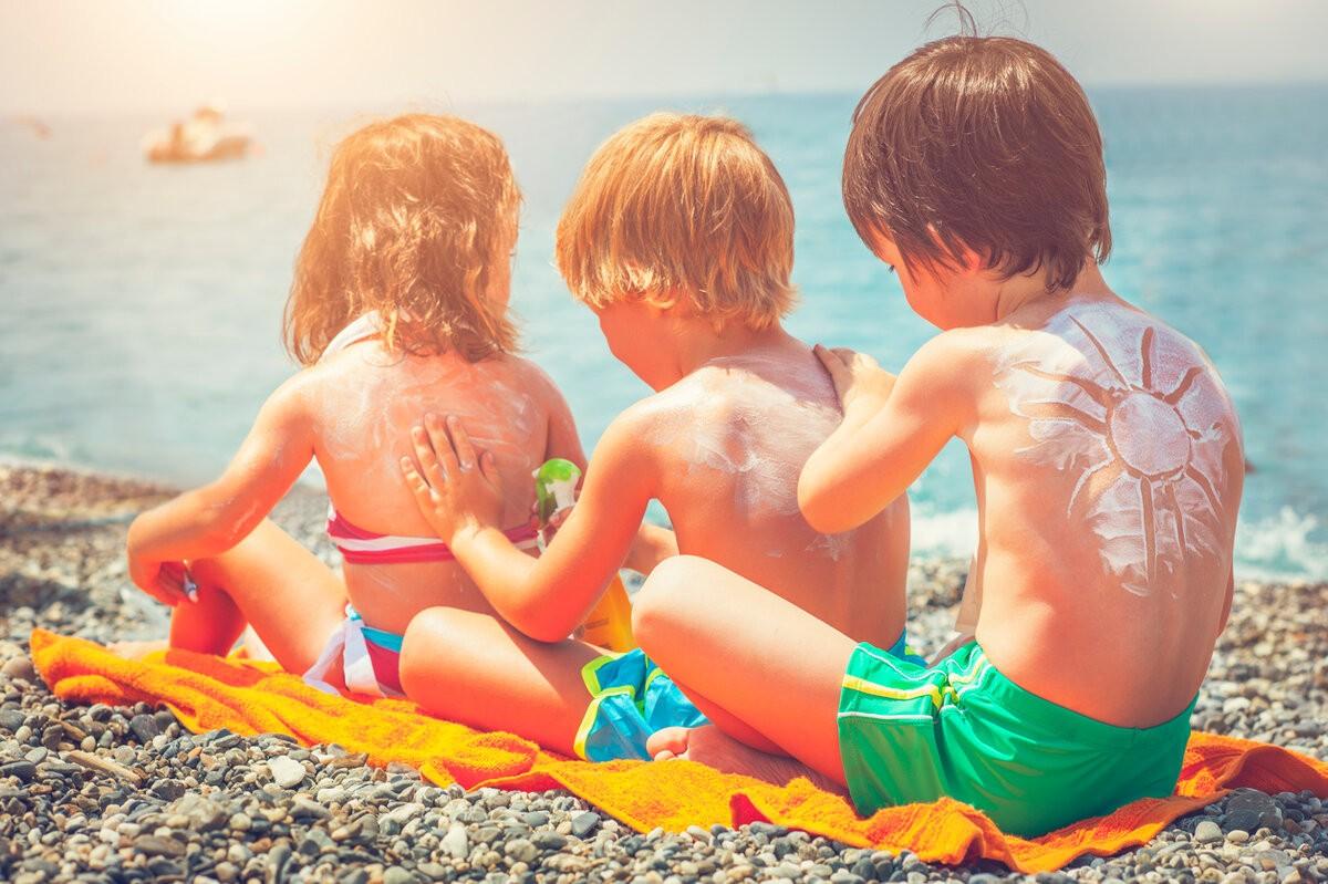 Защита от солнца для ребенка