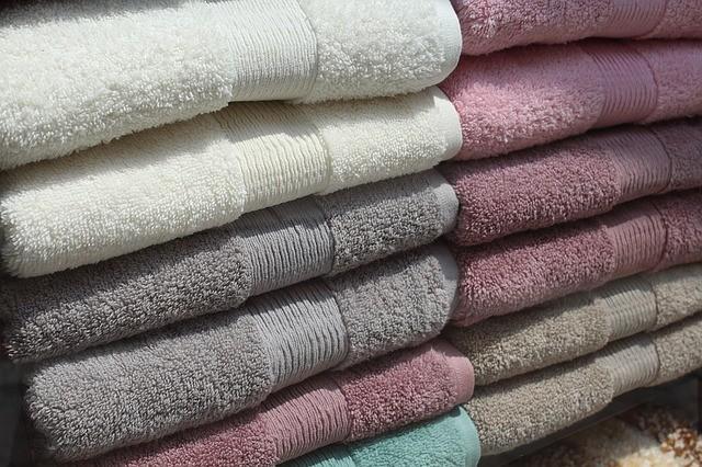 Бамбуковые махровые полотенца