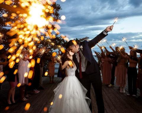 Небанальная свадебная съемка