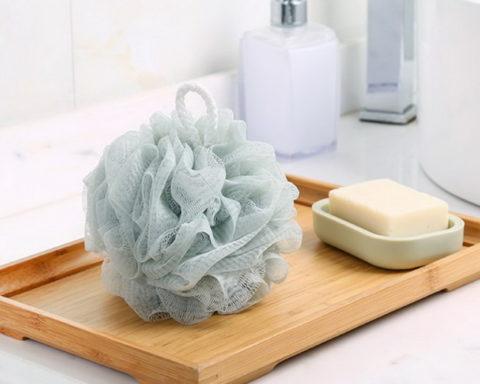 Мыло своими руками: и мыло, и мочалка