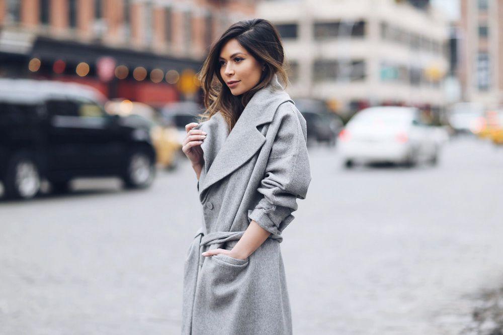 Женское классическое пальто: с чем его носить