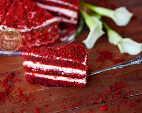 Готовим торт «Красный бархат»