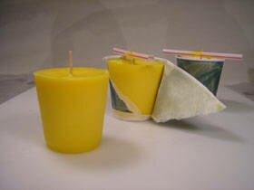 Как сделать простую свечу своими руками