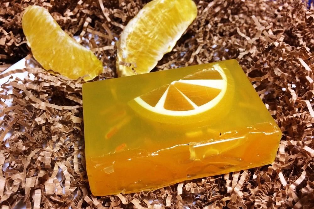 Мыло с лаймом, лимоном и апельсином