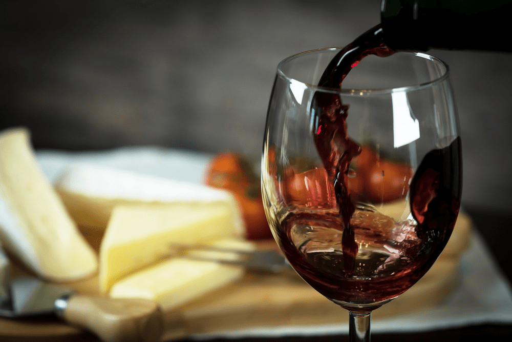 Четыре тоста за красное вино