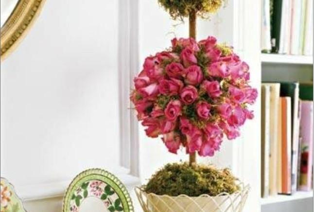 Цветочное топиари