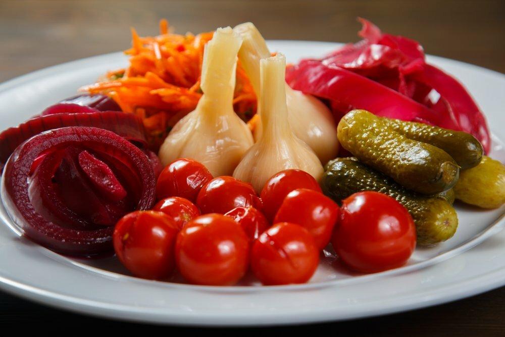 Маринованные овощи: рецепт