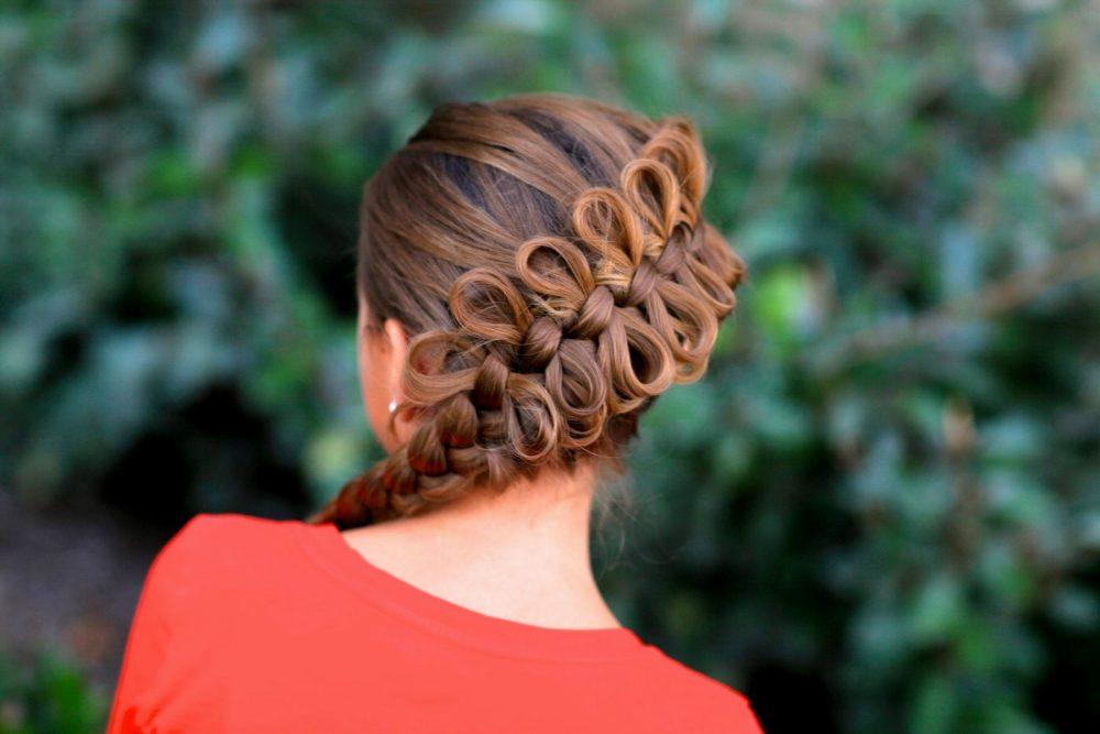 Плетение кос: коса «рыбий хвост»