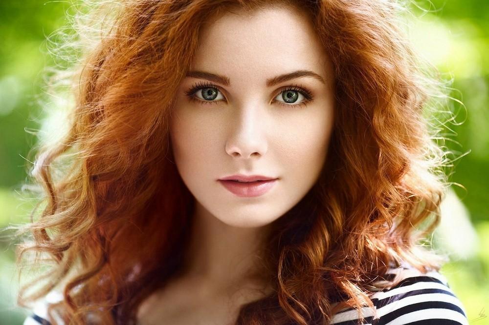 У меня рыжий цвет волос