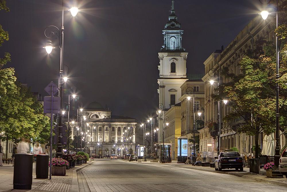 Города Польши: Варшава