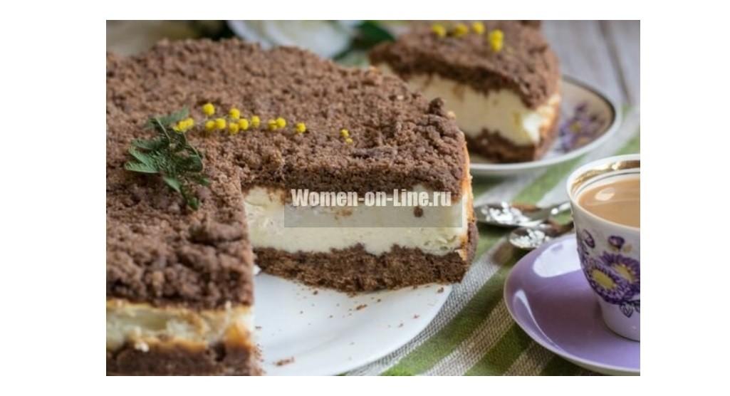 Торфяной пирог – пирог с творогом и какао
