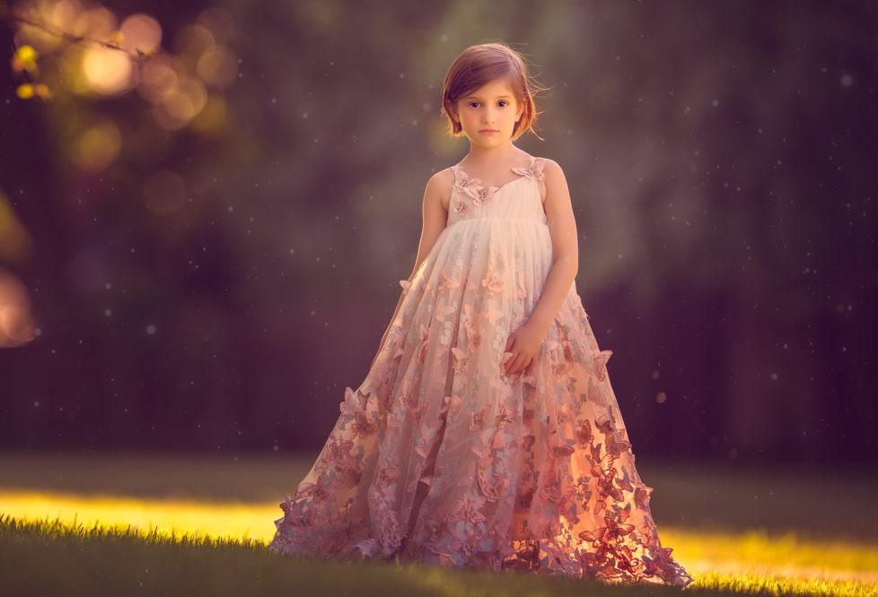 Феи одевают детские вечерние платья