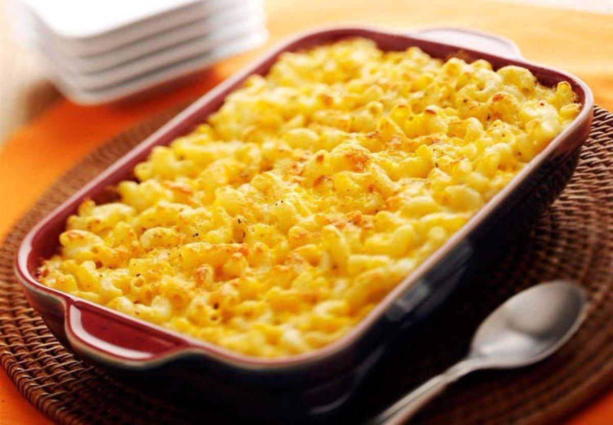 Классическая запеканка – макароны с сыром