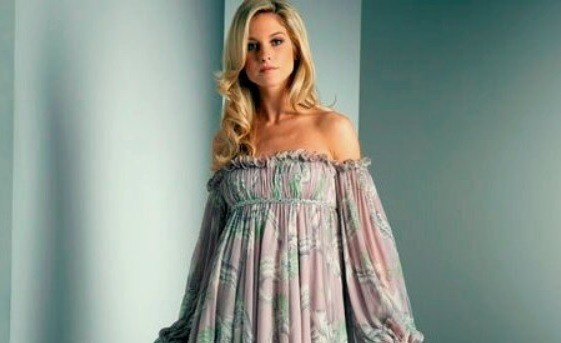 Выкройка интересного и стильного летнего платья