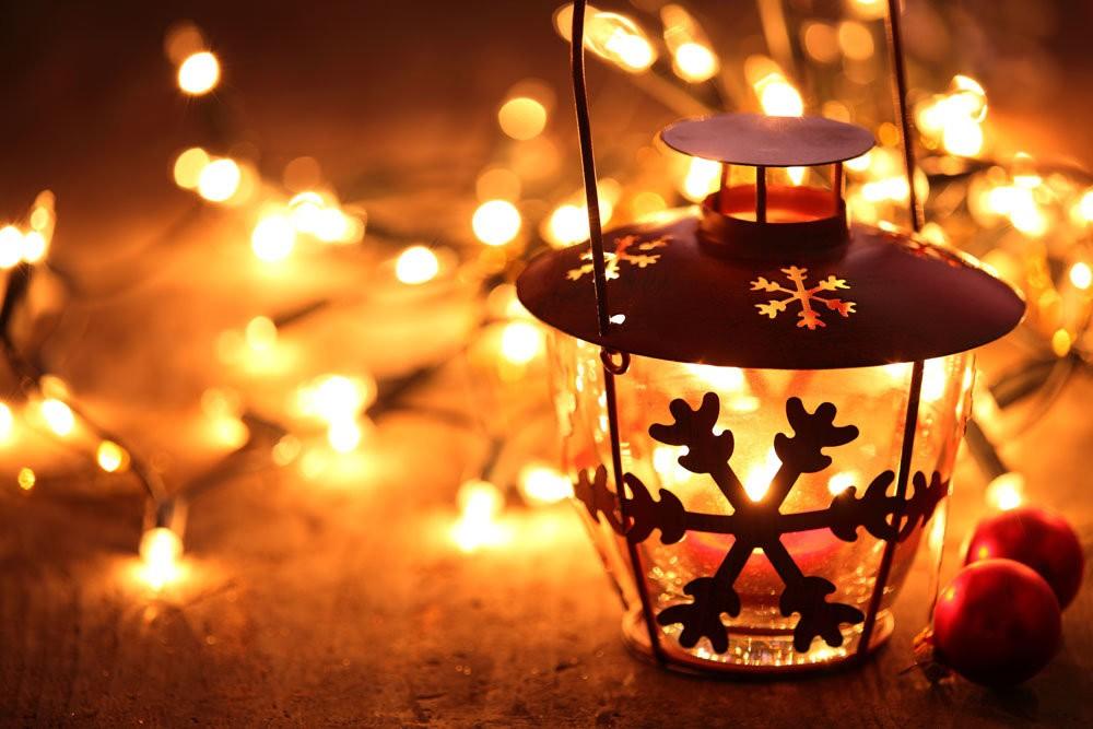 Как сделать фонарик на Новый Год?