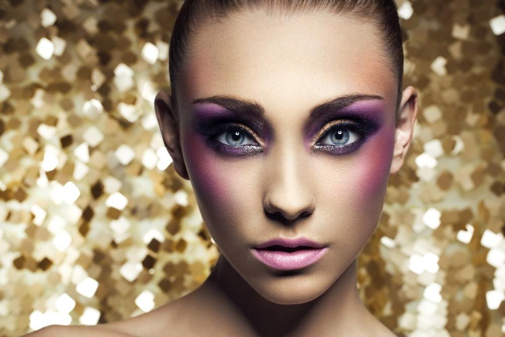 Сияющий макияж для фотосессии