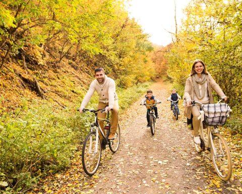 Семейный отдых осенью