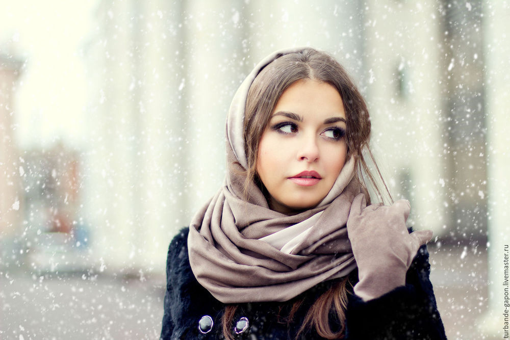 Модные способы завязывания шарфа или платка - советы и идеи