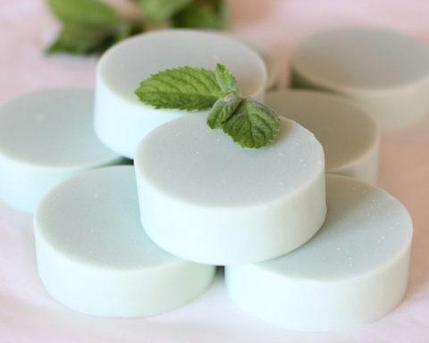 Рецепт домашнего мыла с мятой