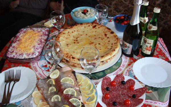 Картофтдын – пирог по-осетински
