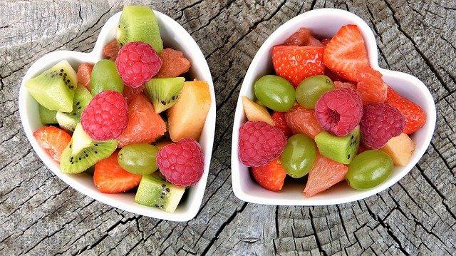 Польза и калорийность фруктов (таблица)