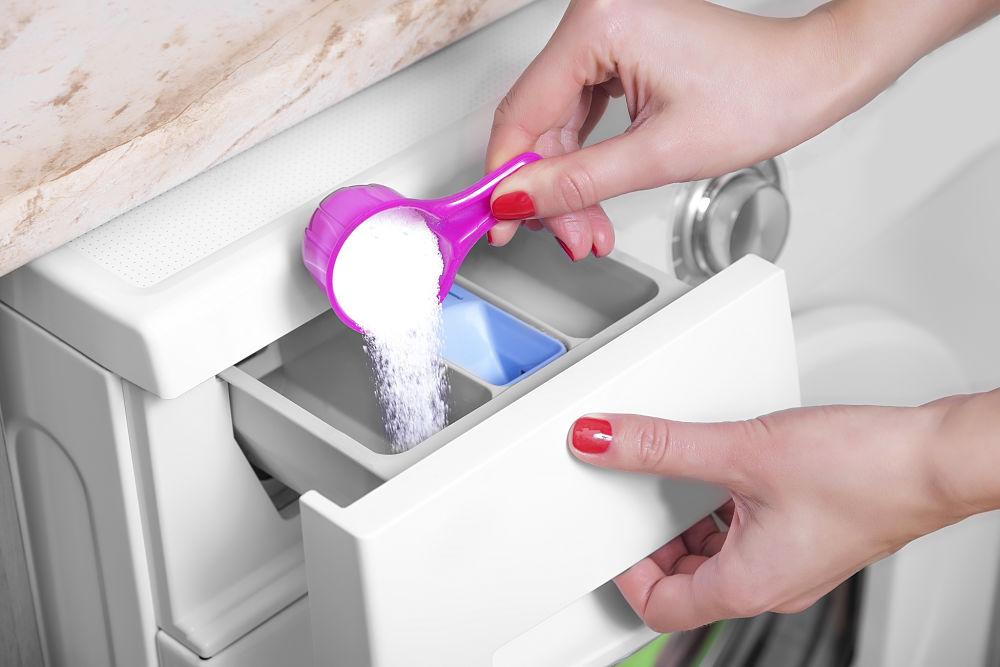 Очистка стиральной машины лимонной кислотой