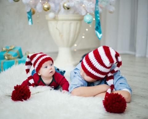 Шьем новогодние шапки для детей сами