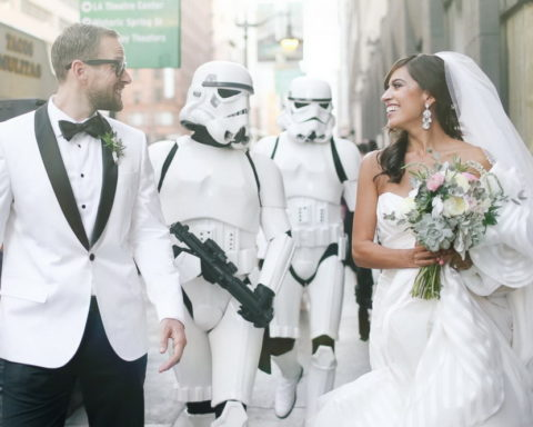 Несколько идей необычной свадьбы