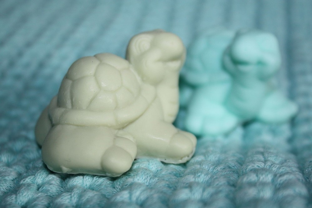 Мыло своими руками в виде черепашки