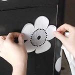 Декорирование мебели бумажными принтами
