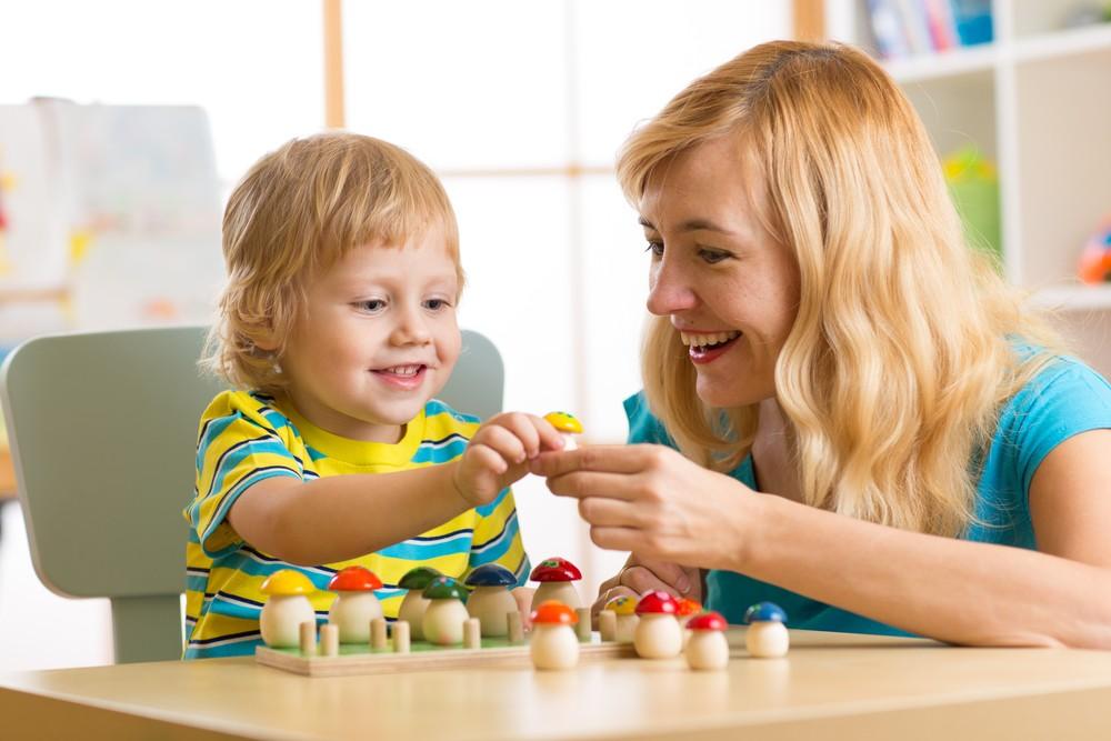 Развивающие игры для детей (часть 1)