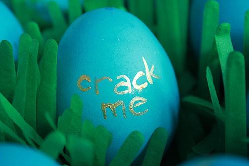 Шоколадные пасхальные яйца с сюрпризом