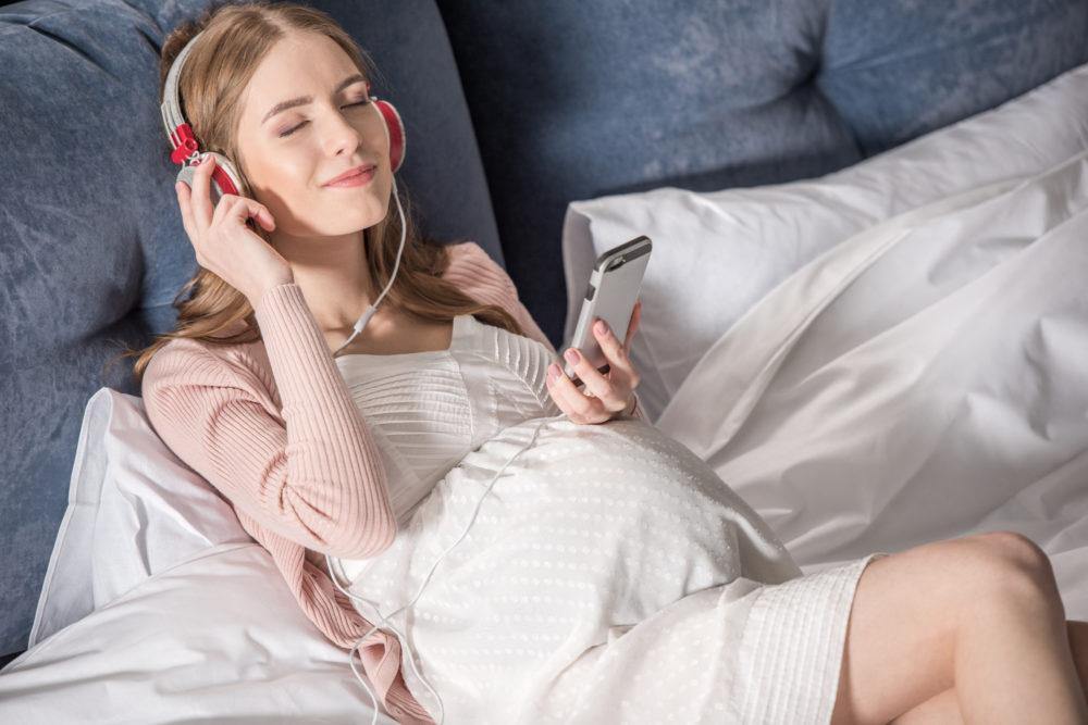 Музыка и беременность фото