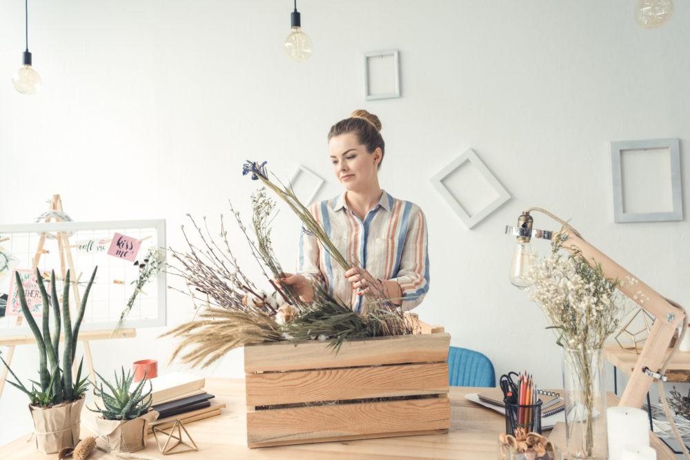 9 способов правильно засушить цветы
