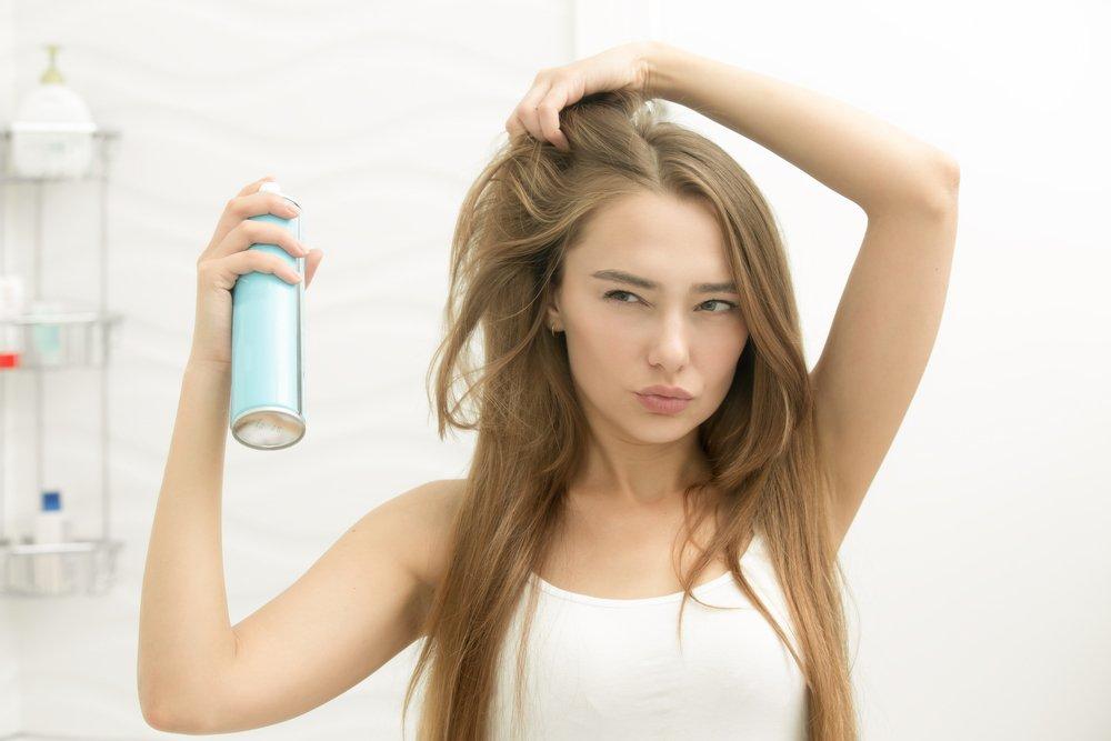 Как приготовить спрей для волос?