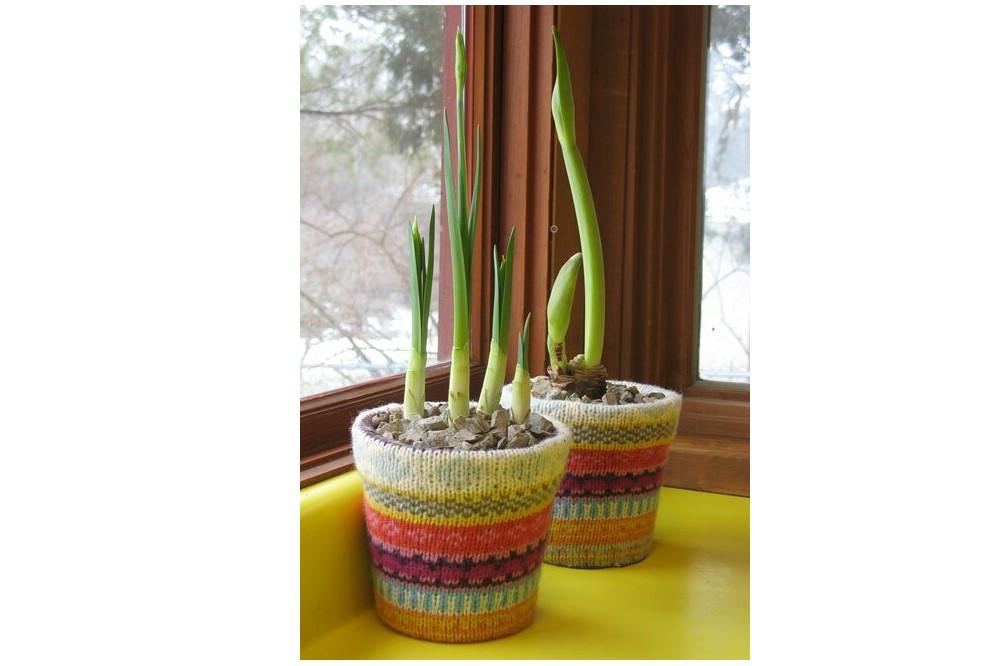 Чехлы для цветочных горшков