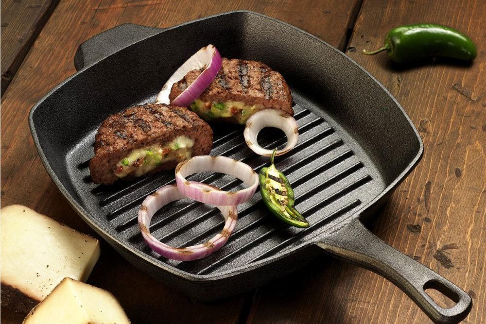 Сковорода гриль газ: готовим вкусно и полезно
