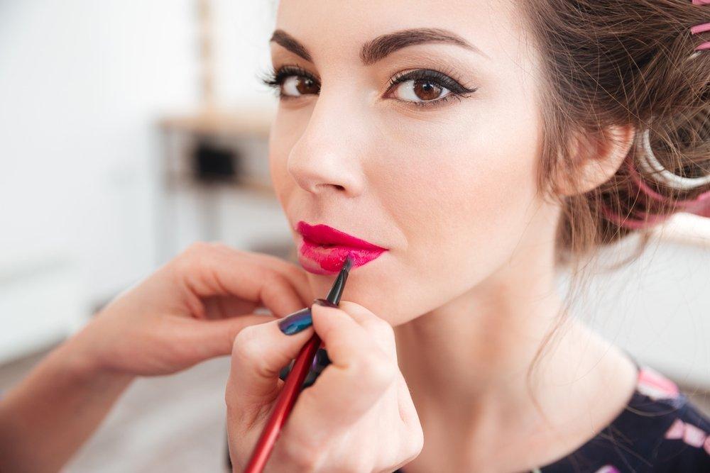 Яркий макияж (пошаговое фото и видео) для карих глаз