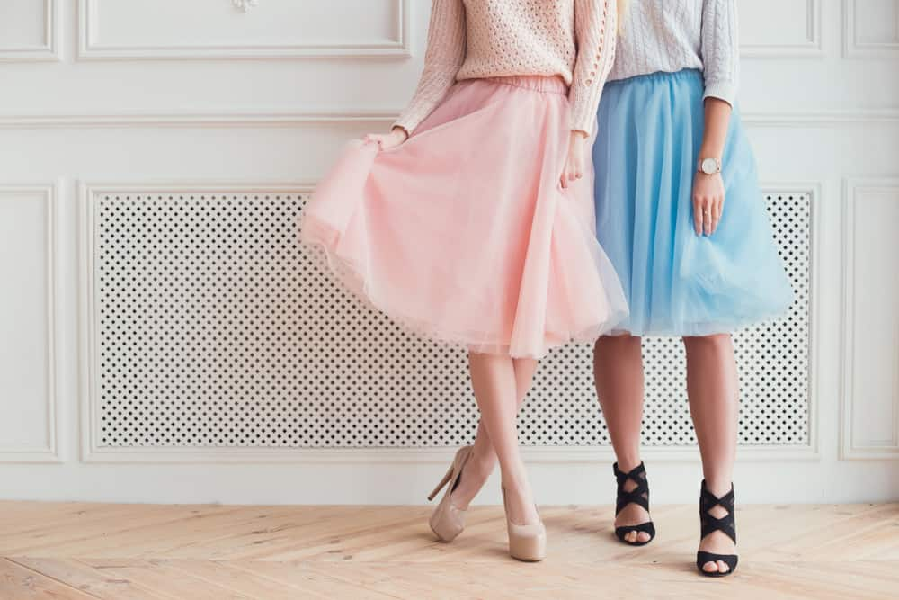 Мечта любой модницы – юбки в стиле винтаж