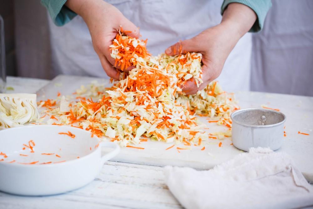 Приготовление квашеной капусты
