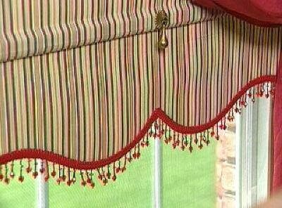 Рулонная штора-ламбрекен своими руками