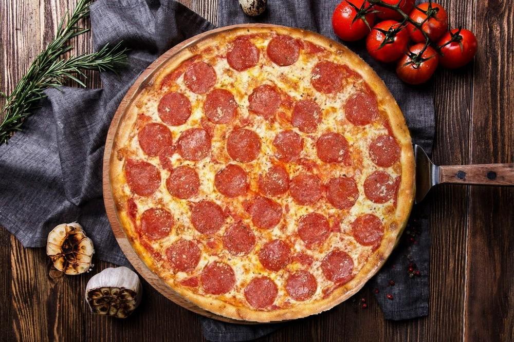 Рецепт пиццы пепперони