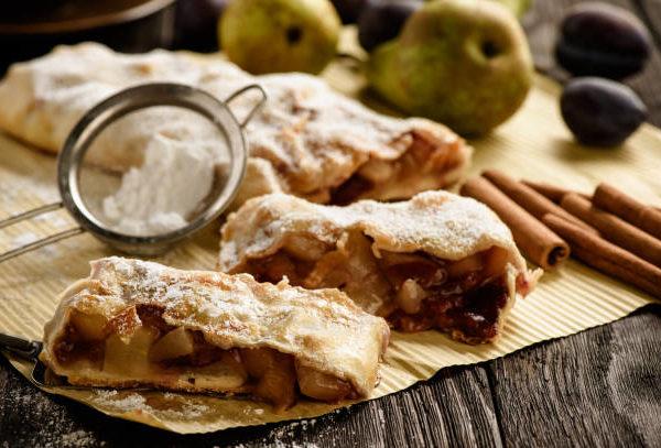 Как приготовить тесто для штруделя — рецепт