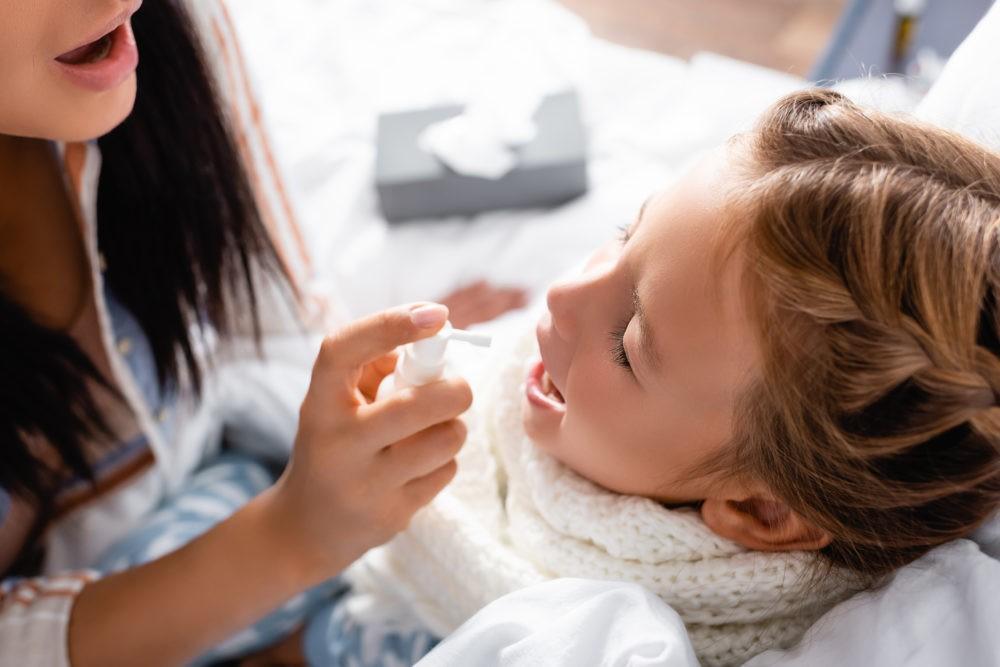 Заболевания горла у ребенка