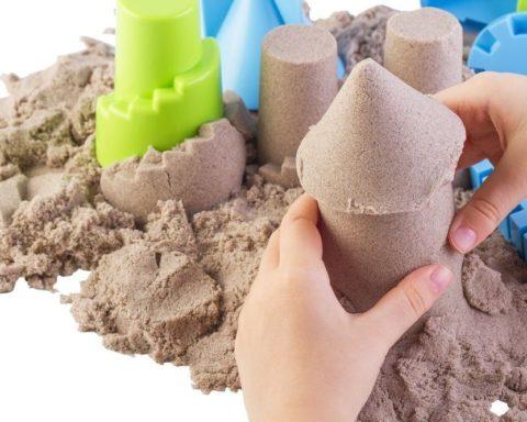 Кинетический песок своими руками